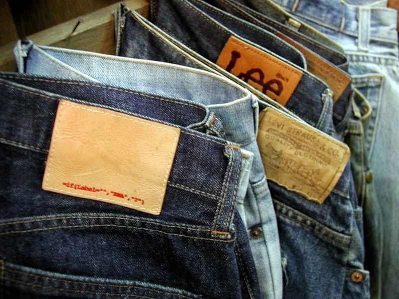 Podróbki - skarby z Państwa Środka - dżinsy