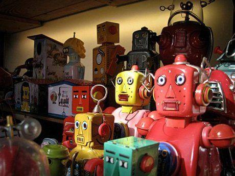 Import zabawek z Chin - roboty