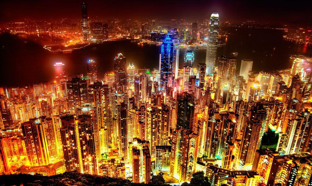 Import z Hongkongu - widok na miasto