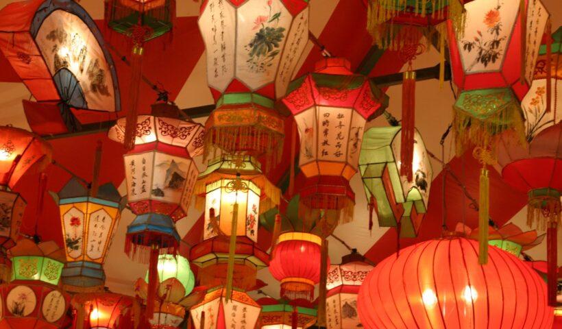 Made in China - chińskie lampiony