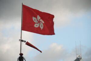 Import z Hongkongu - flaga