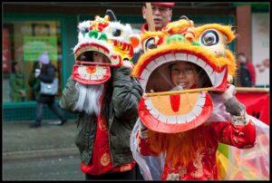 Chiński Nowy Rok - parada